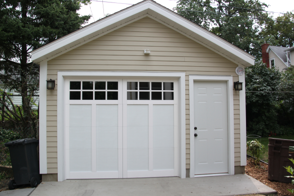 Affordable Detached Garage Builder Single Car Garages Backyard Garage Garage Builders Farmhouse Layout