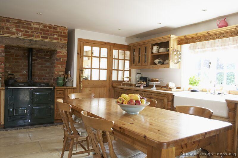 Country Kitchen Design #07 (Kitchen-Design-Ideas.org) Farmhouse ...
