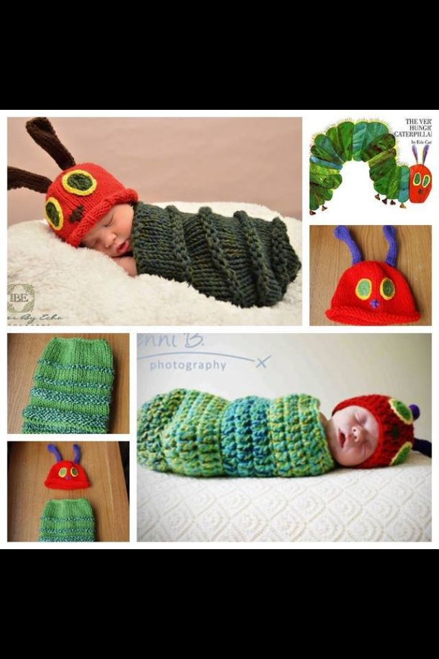 Very Hungry Caterpillar Knitting Patterns To Try Pinterest