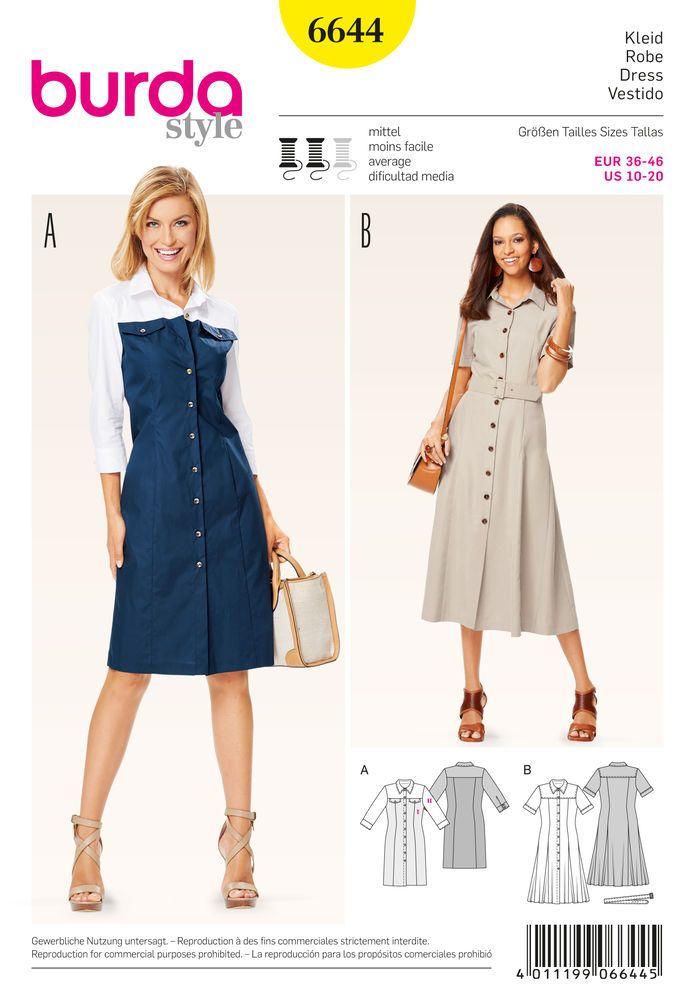 Misses\' Dress | Sewing Projects | Pinterest | Nähen und Nähideen