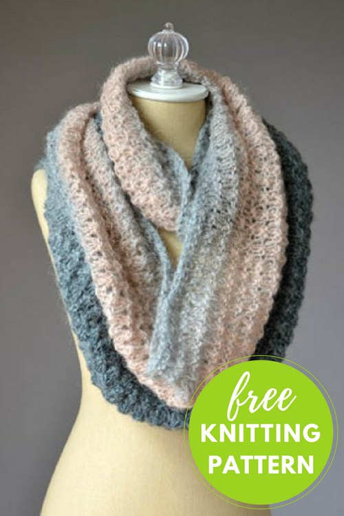 Mother Of Pearl Cowl Free Knitting Pattern Knitting Knitting