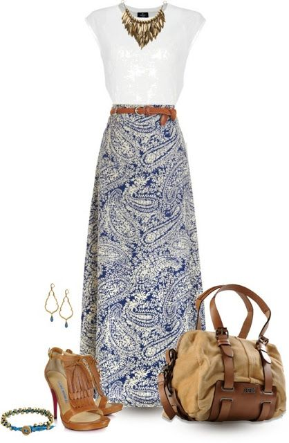 86842e9459f2 Fashion Dresses Archives | Style Inspirations | Fashion, Maxi skirt ...
