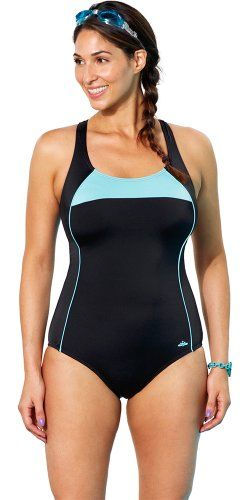 a7cb9d40be36e Fashion Bug Plus Size Cross Back Swimsuit Plus Size Swimwear.  www.fashionbug.us  curvy  fullfigured  plussize