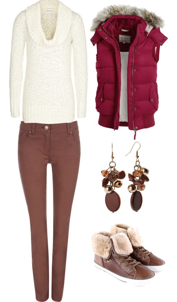 """""""Brown Winter Outfit"""" by kaylah5 on Polyvore"""