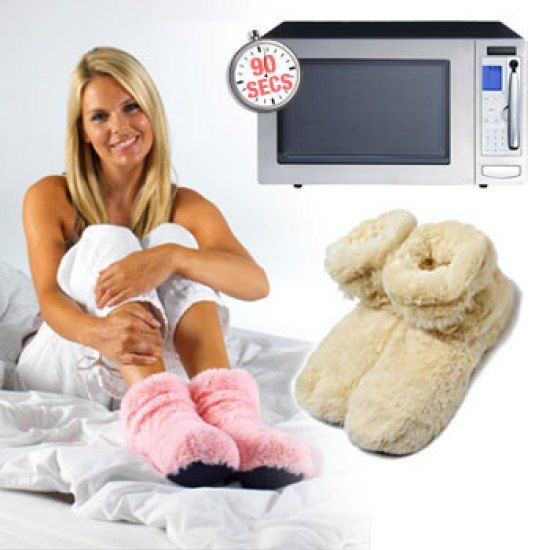 Australia Melbourne Gadgets Gift These Extra Plush Microwave Heated Slippers Will