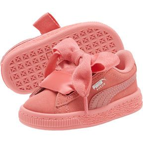 abc23679625 Suede Heart Snake Girls  Sneakers