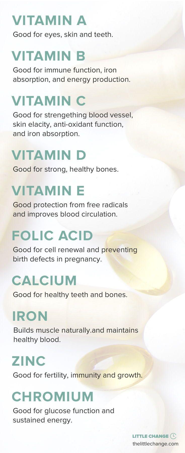 The Benefits of Vitamins  #vitamins #supplements #health #healthy #healthbenefits #exercisehealthben...