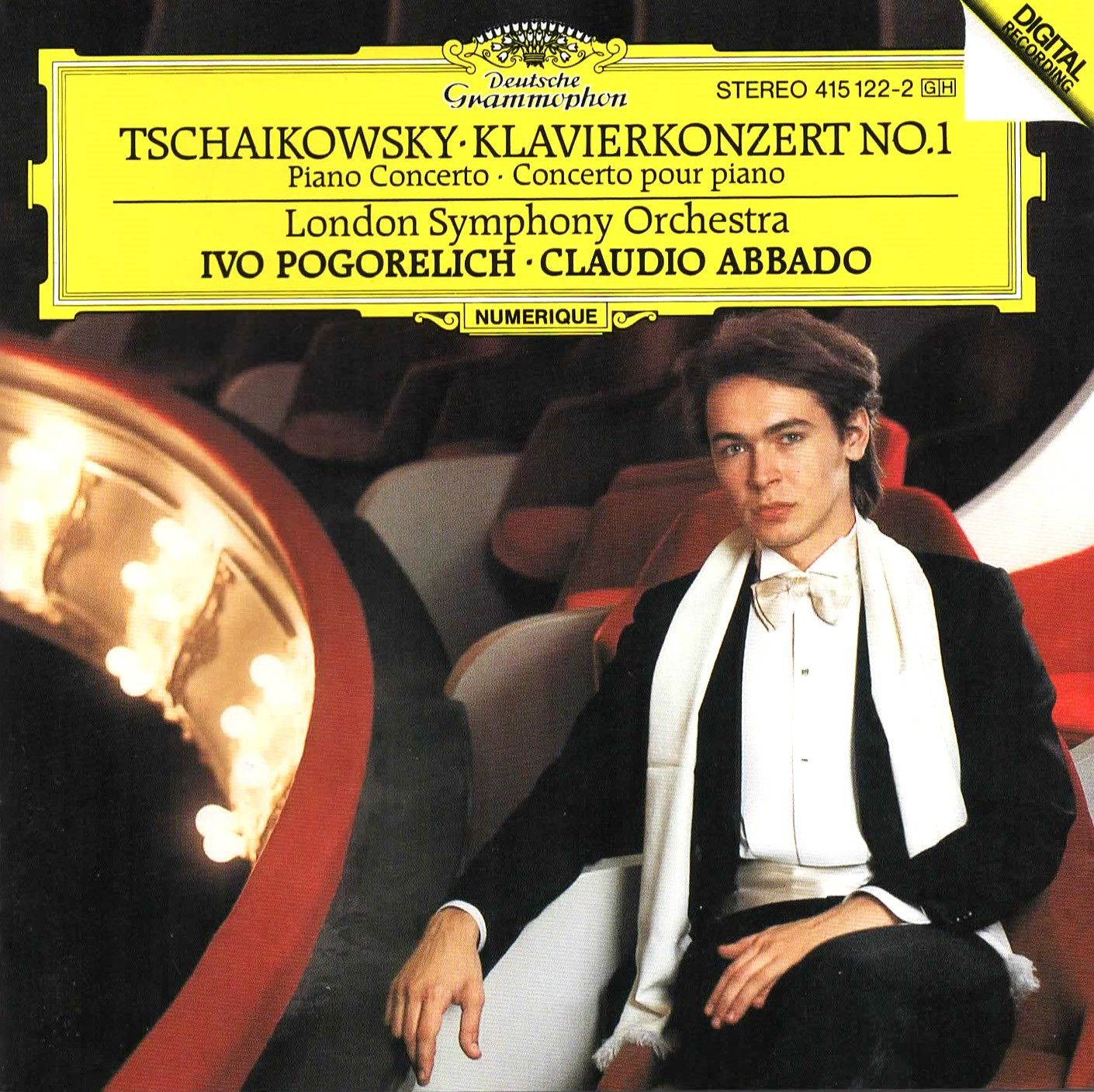 Peter Tchaikovsky Concerto For Piano And Orchestra No 1 In B Flat Minor Op 23 Performer Ivo London Symphony Orchestra Symphony Orchestra London Symphony