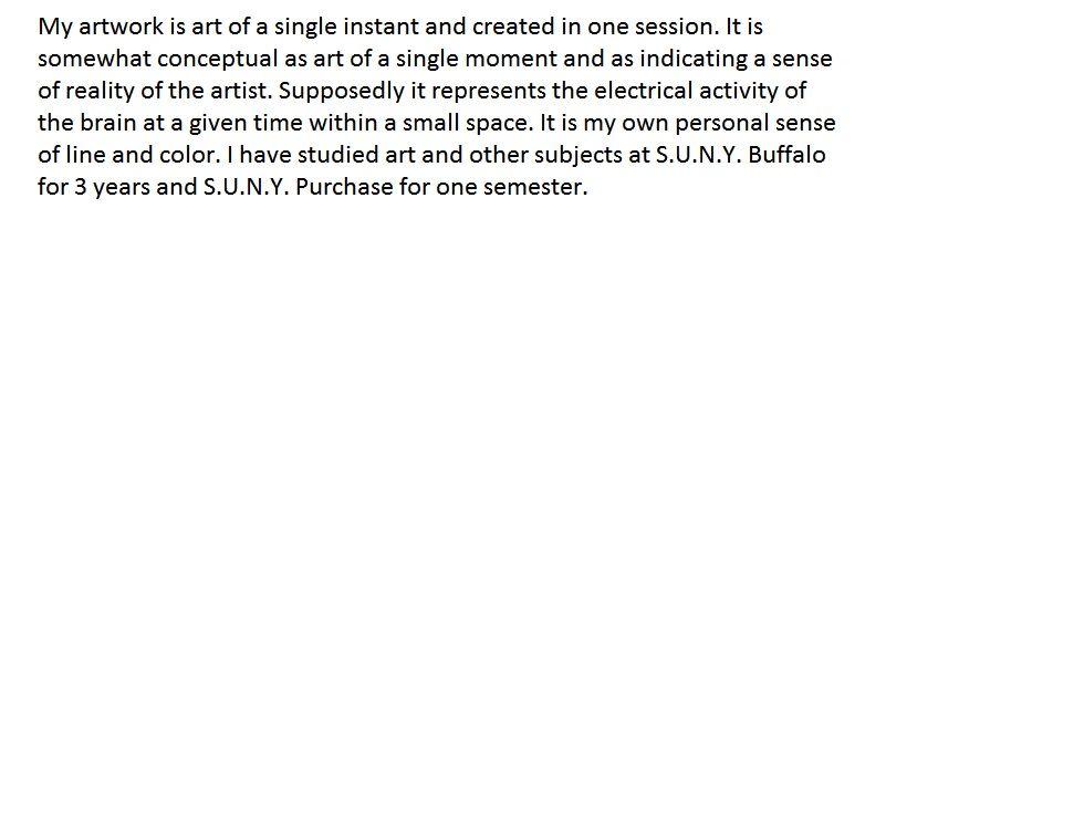 Artist Statement For Daniel Schack Artist How To Plan In This