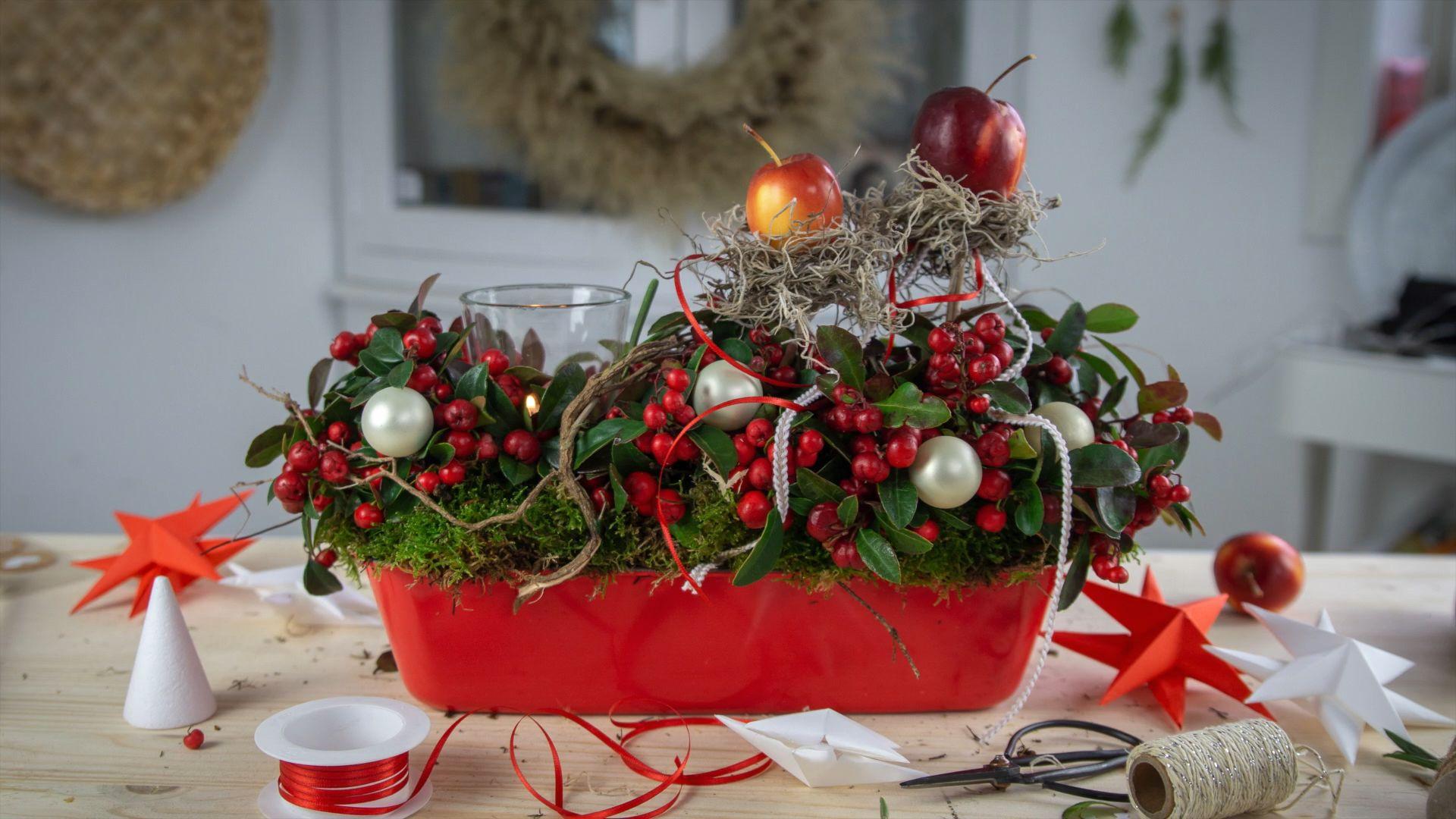 Photo of DIY Christmas arrangement