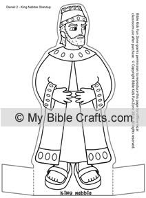 King Nebuchadnezzar Cut Out