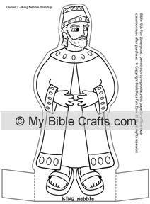 Daniel And King Nebuchadnezzar S Dream Worksheet Old Testament