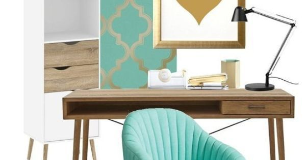 Ideas about Pinterest: High & Low: One Fresh Home Office Look Two Budgets | Apartment Therapy