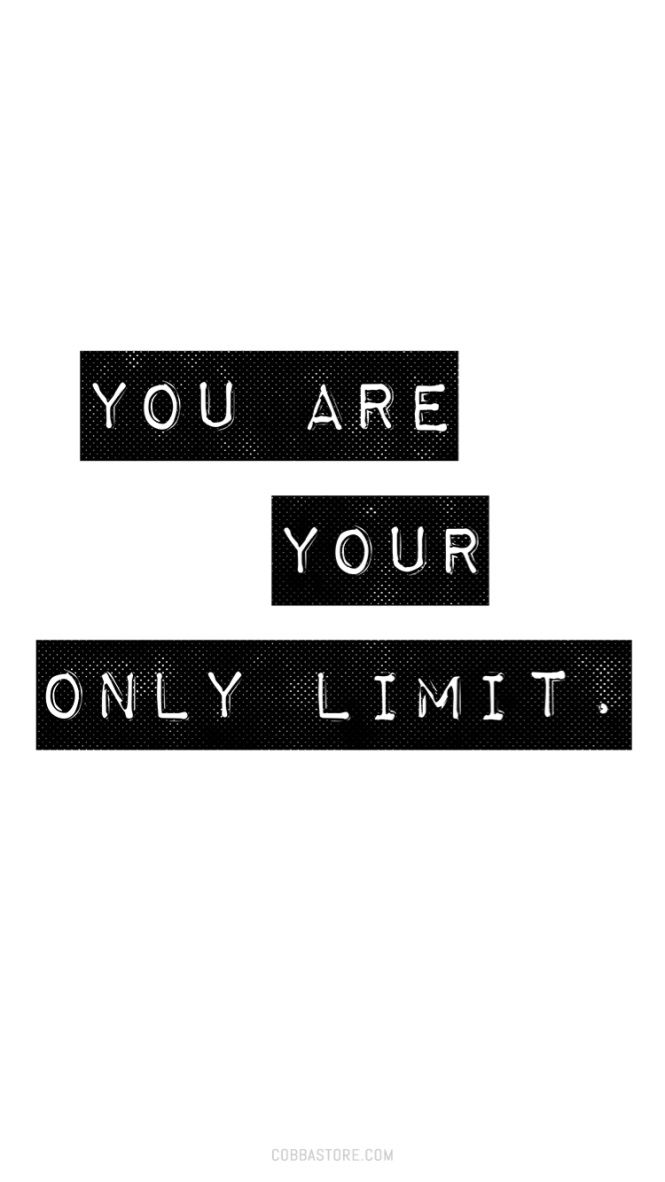Iphone Wallpaper Tuesday Motivation You Are Your Only