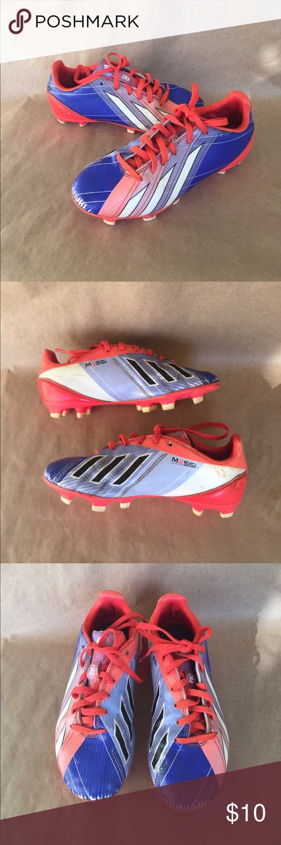 big sale 4eefc 6828f ... special sales Adidas Messi Soccer Cleats Used condition as seen in  photos.