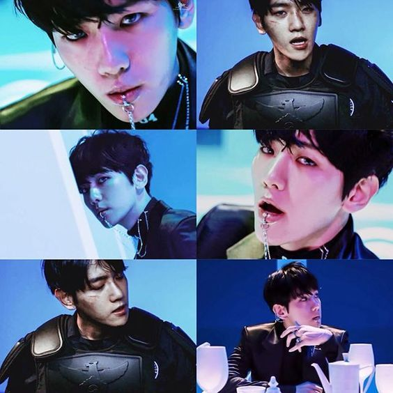 This comeback was lit, the lip ring was life, Baekhyun slayed