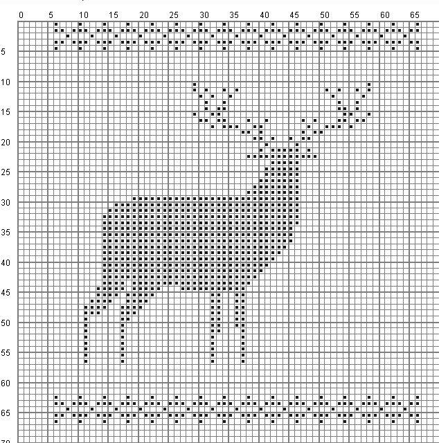 54-cerf | Afghan crochet patterns | Pinterest | Creativo, Historia y ...