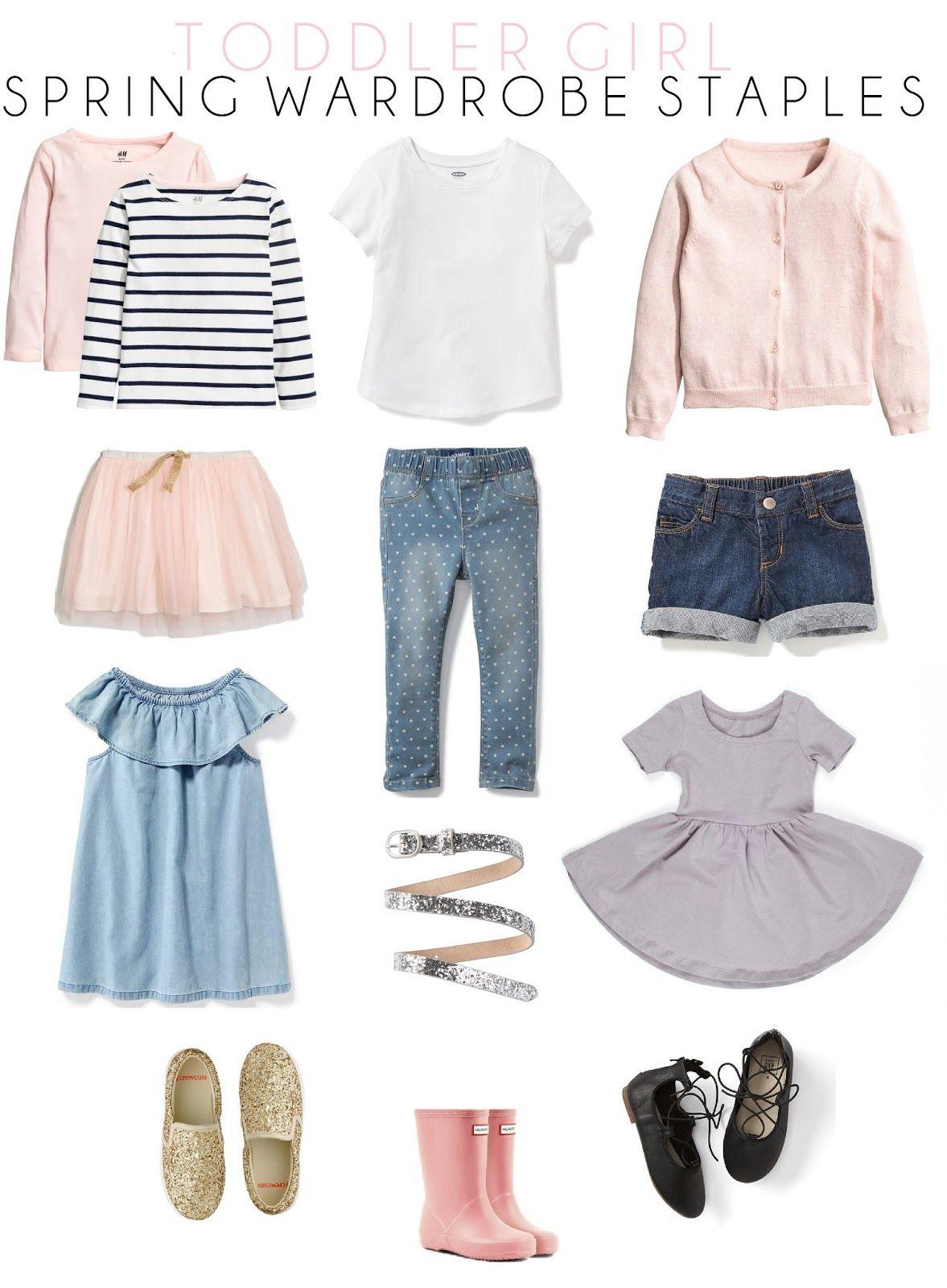 Toddler Spring Wardrobe Staples // Toddler Spring Fashion // Life