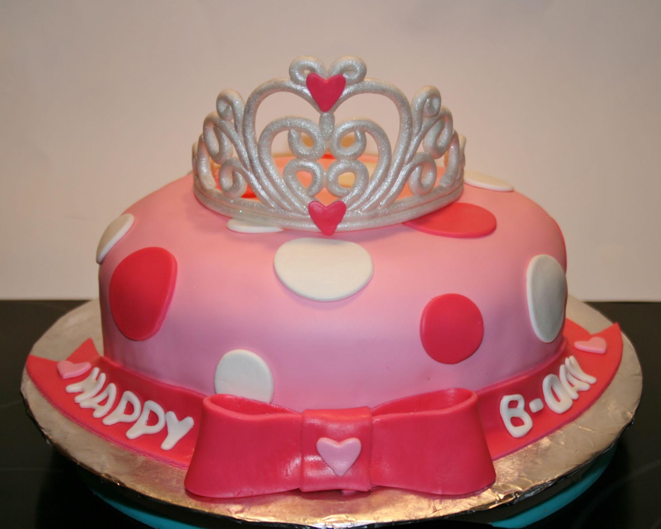 Princess Tiara Cake By Kb Cakes Kbcakes