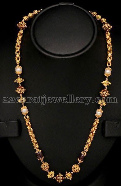 Image result for types of gundu chains jewellry