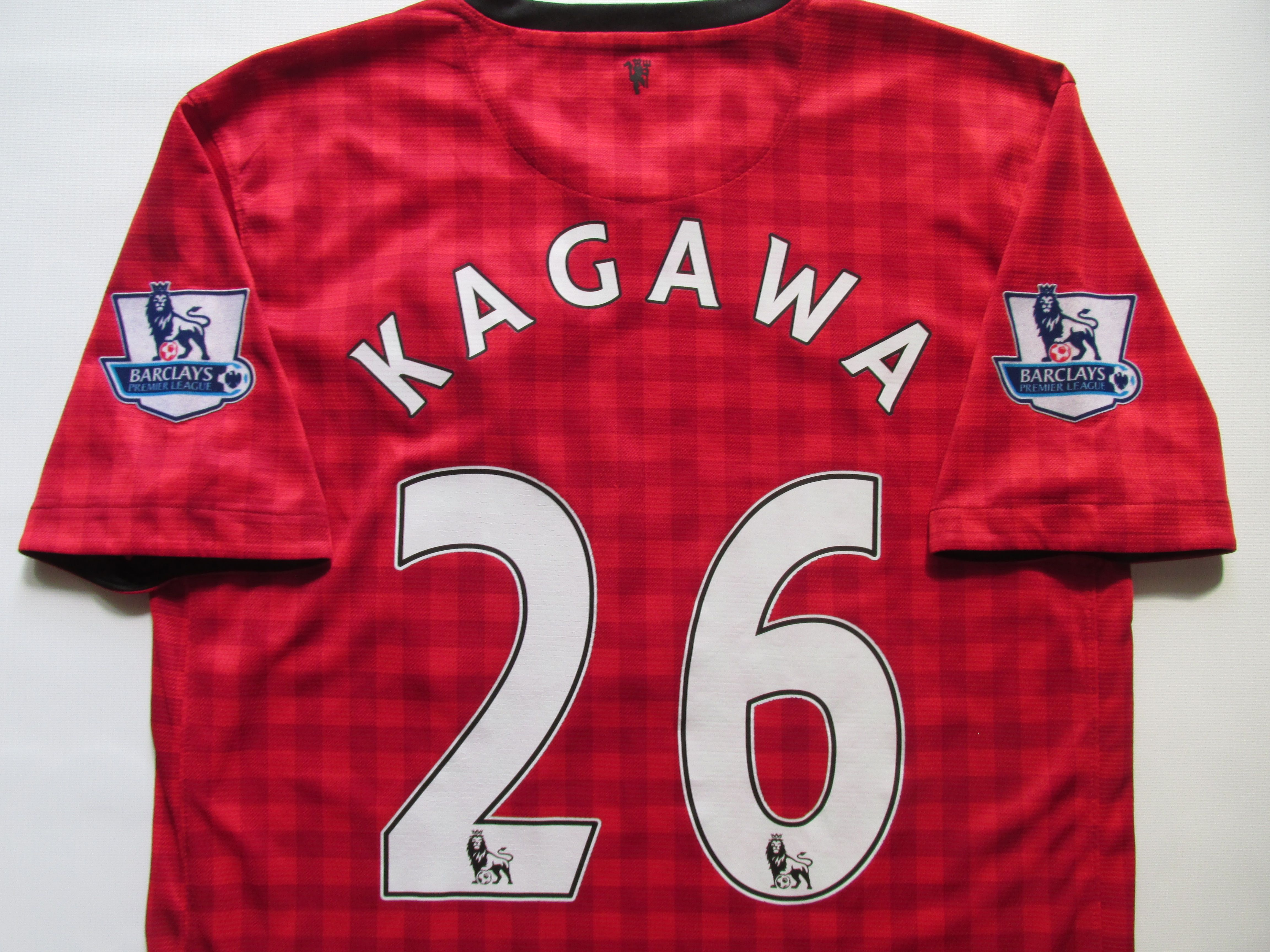 Manchester United 2012 2013 Home Football Shirt Shinji Kagawa 26 By Nike Mufc Manunited Manutd Reddevils Vintage Football Shirts Soccer Jersey Football Shirts
