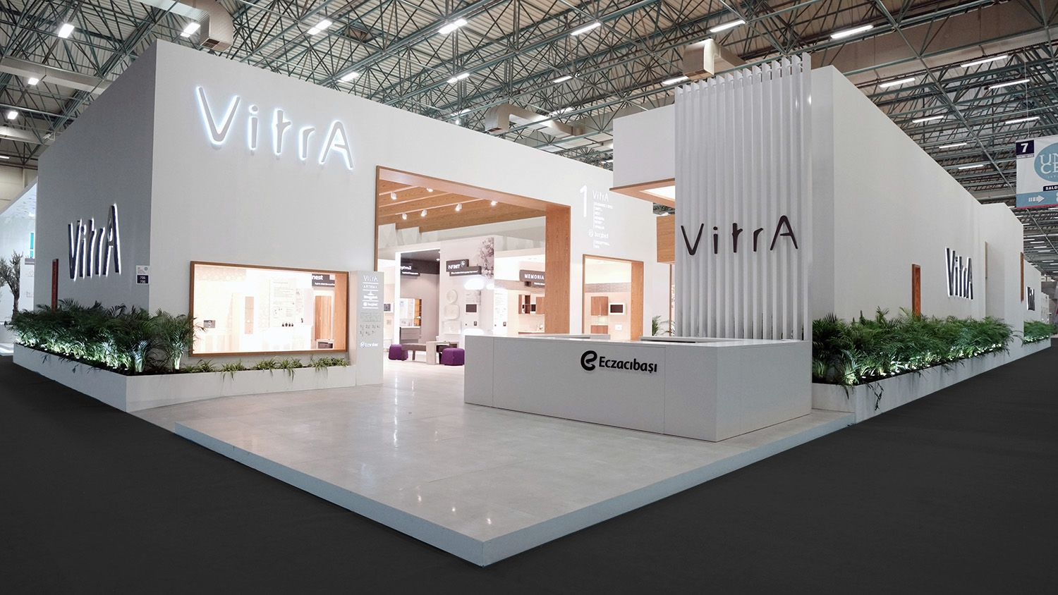 Glass Shed Exhibition Stand Design : Vitra unicera by neo design exhibition