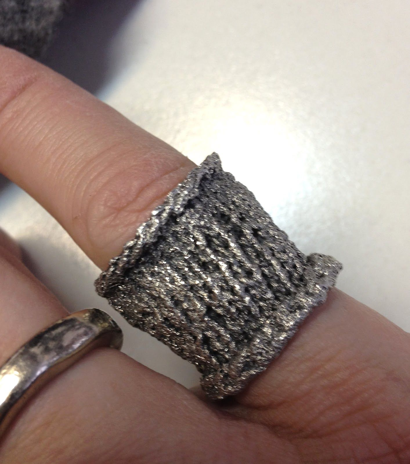 silber plait fastgefaehrlich zopfring knitted ring web in cotton com en rings silver portfolio