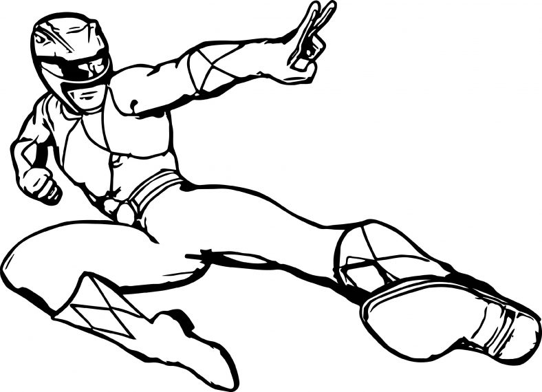 Superhero Power Rangers Coloring Pages | 101 Coloring ...