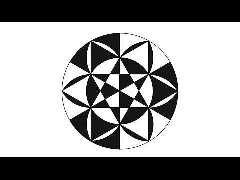 The Art Of Drawing Circles Geometrical Shapes In Tutorial
