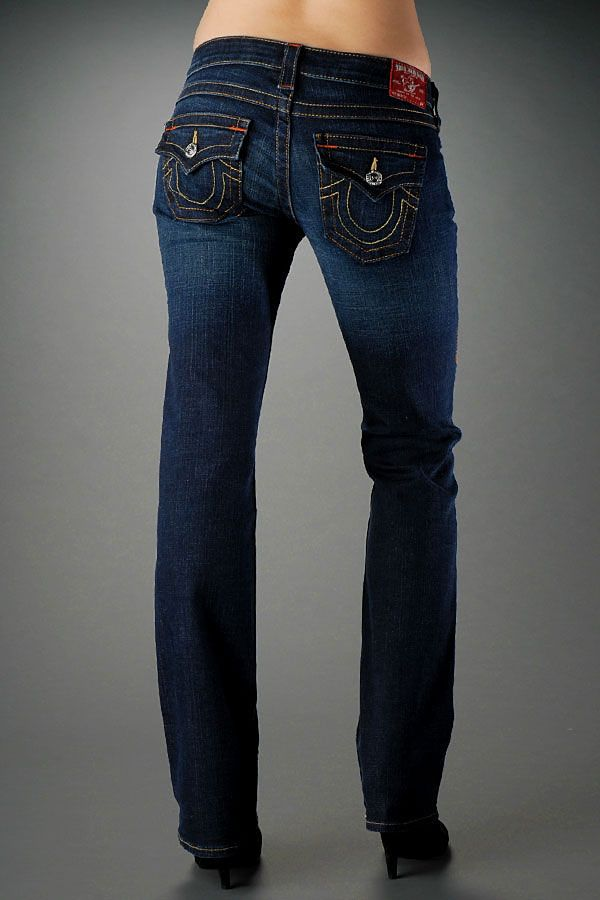 True religion women's becky bootcut jean in lonestar