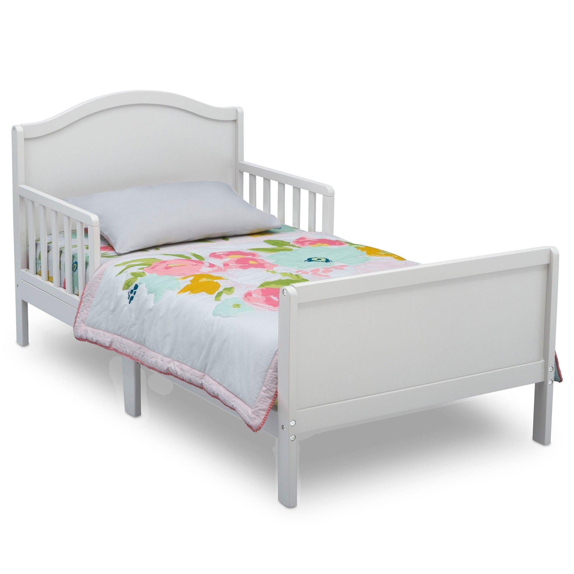 Delta Children Bennett Toddler Bed Bianca White Bed Toddler
