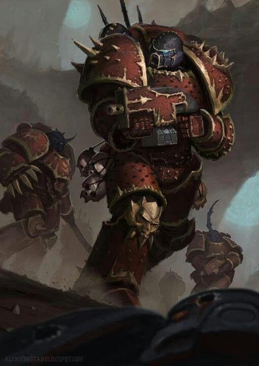 Warhammer 40k Chaos Space Marines | Warhammer 40k ...