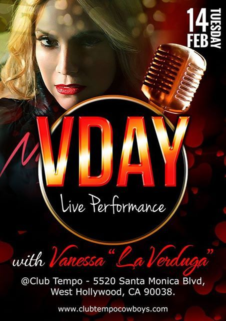 Happy Valentine's Day!!! ❤ Today is super special cause I get to share this day with all of my loves at Club Tempo Stop by tonight for my special #VDay performance and listen to my new single Niégalo Todo live   #LaVerduga #ValentinesDay #ClubTempo #Reggaeton #Bachata #Cumbia #Salsa #Dance #Freestyle #Club #SoyMujer #FragmentMuzik #RecordingArtist #Musica #Latina #UrbanLatino #Latino #Music #liveperformance #amor #love #amistad #SanValentin #blessed #grateful #followme #DíaDeSanValentín #diade