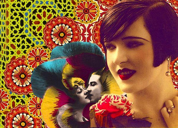 *Flapper #1* graphic art by Laura Li