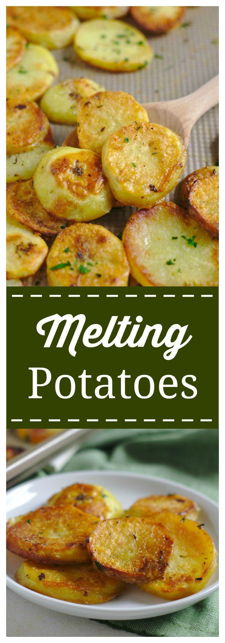 Photo of Easy Melting Potatoes Recipe – Mildly Meandering