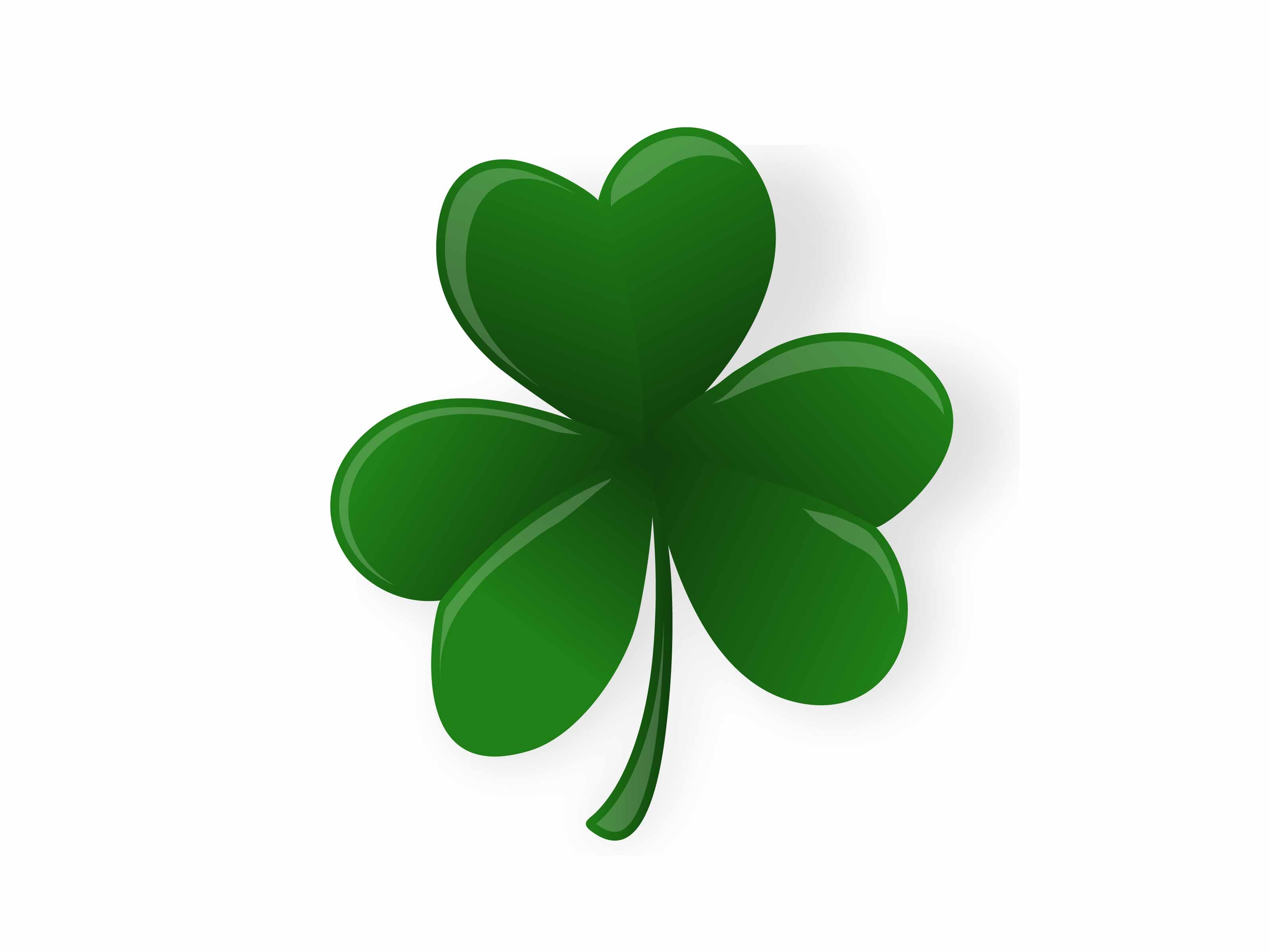 Draw A Shamrock Coloring Pages Fun Pinterest Bright Green