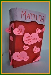 you should be expecting some incoming mail at school on valentines day be prepared with - Valentine Bags For School