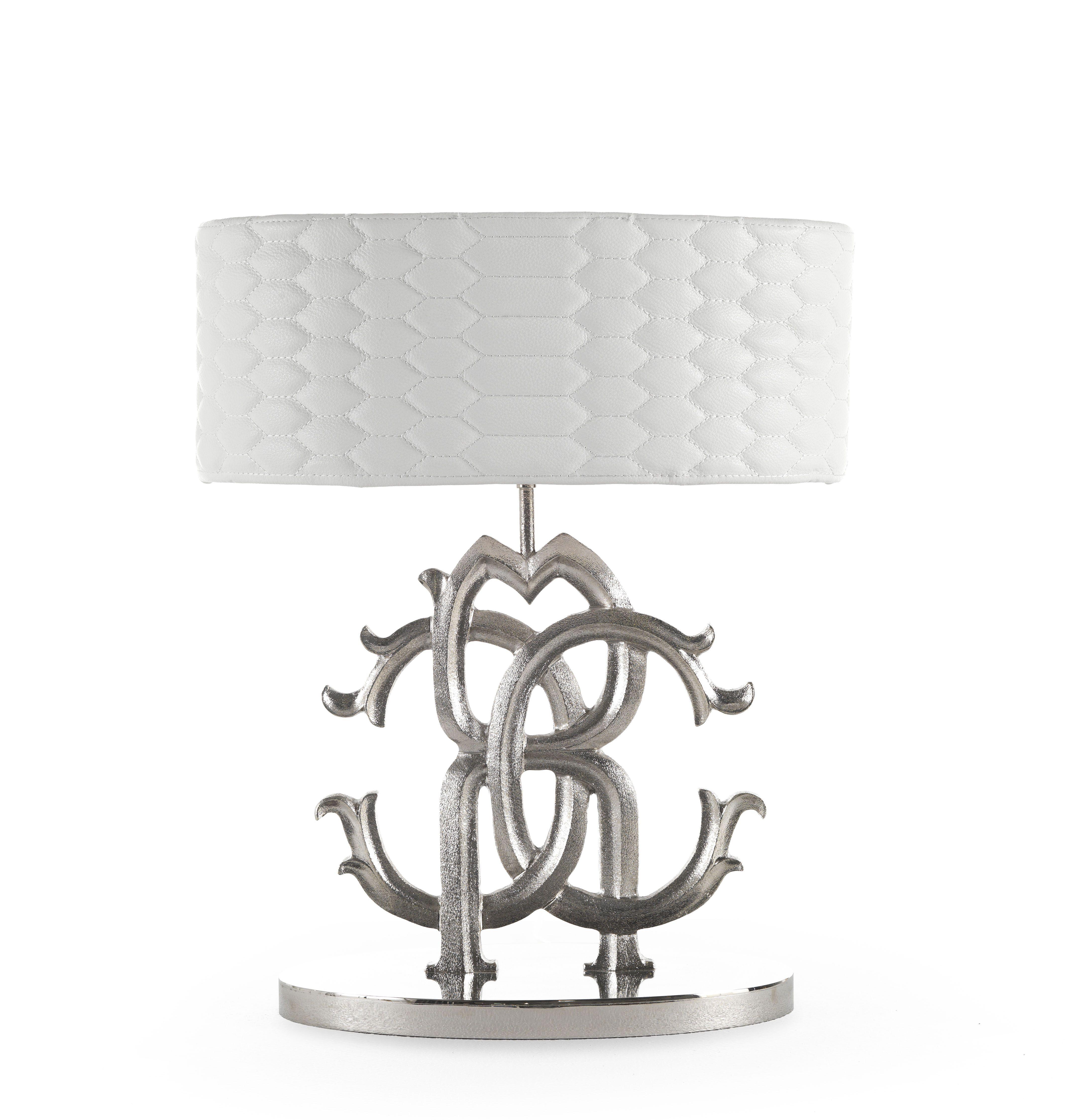 logo table lamp roberto cavalli home robertocavallihome