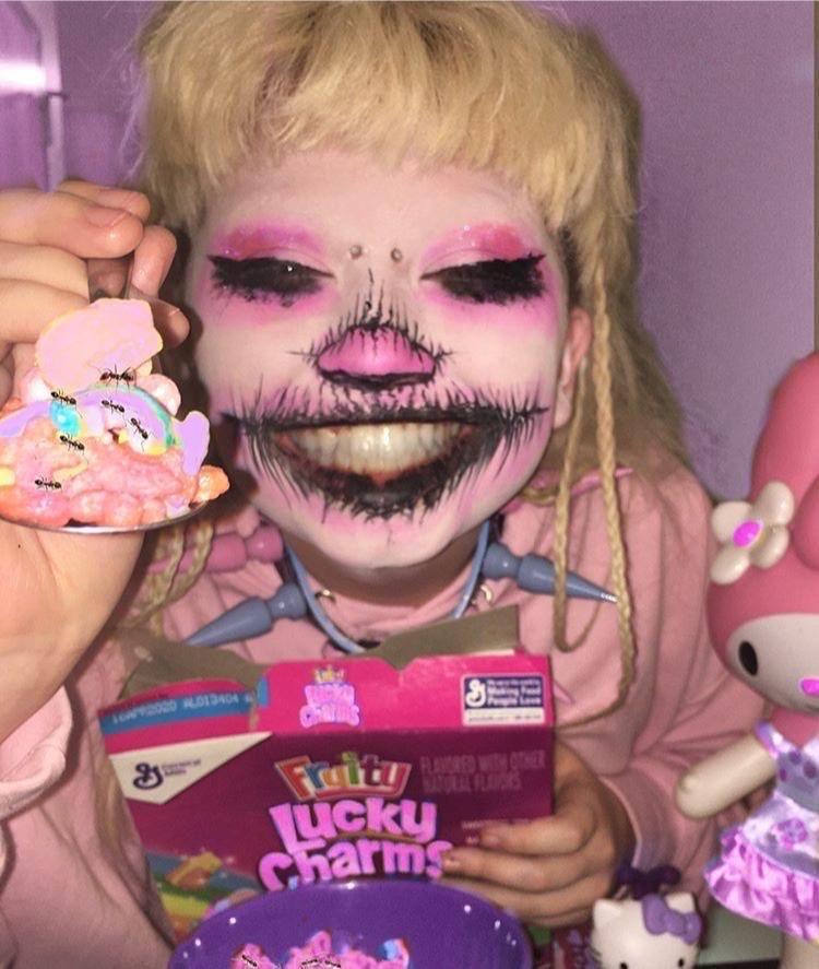 ʚ jazmin bean ɞ in 2020 Aesthetic makeup, Clown makeup
