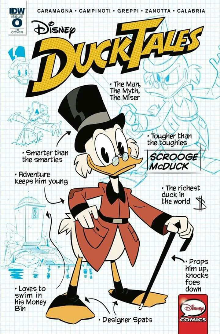 Ducktales Comic Issue 0 Variant Cover