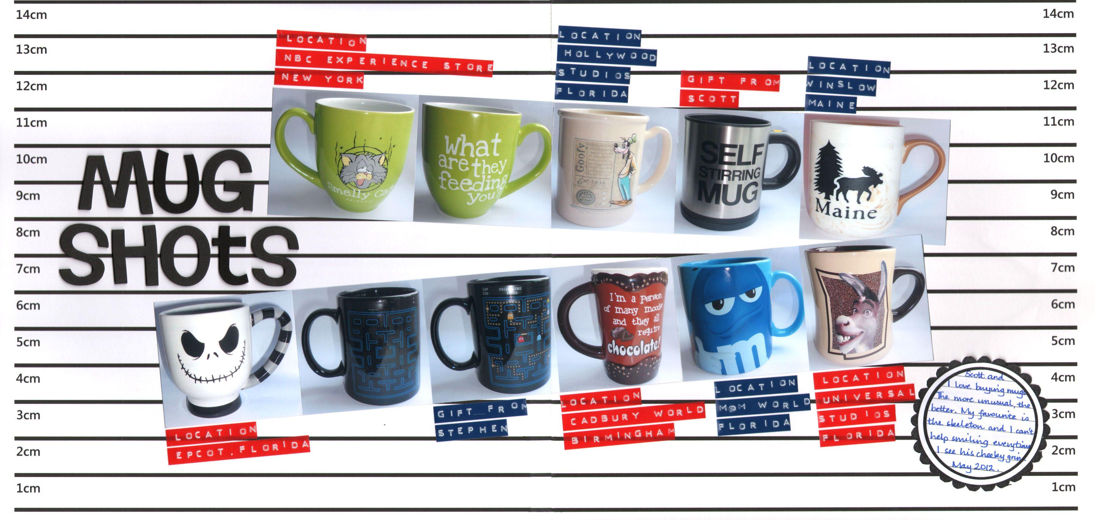 Mug Shots (With images) Disney