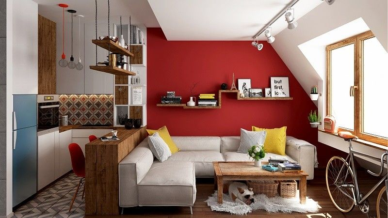 Urban Retro Modern Paradise In 30m2 187 All Of Design