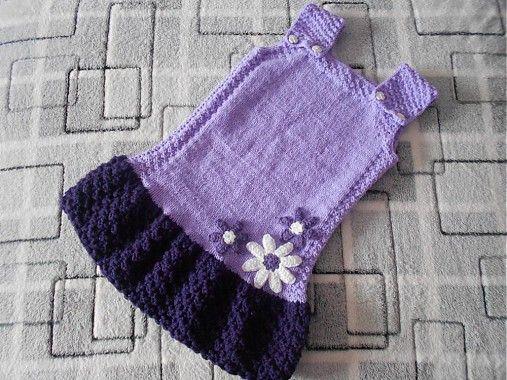 548dce89217f Pletené šaty   mimacik - SAShE.sk - Handmade Detské oblečenie