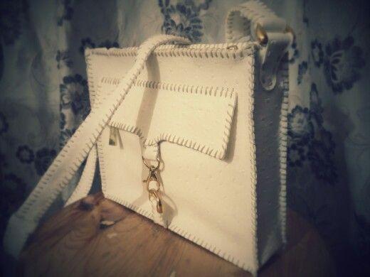 Handmade bag.leather