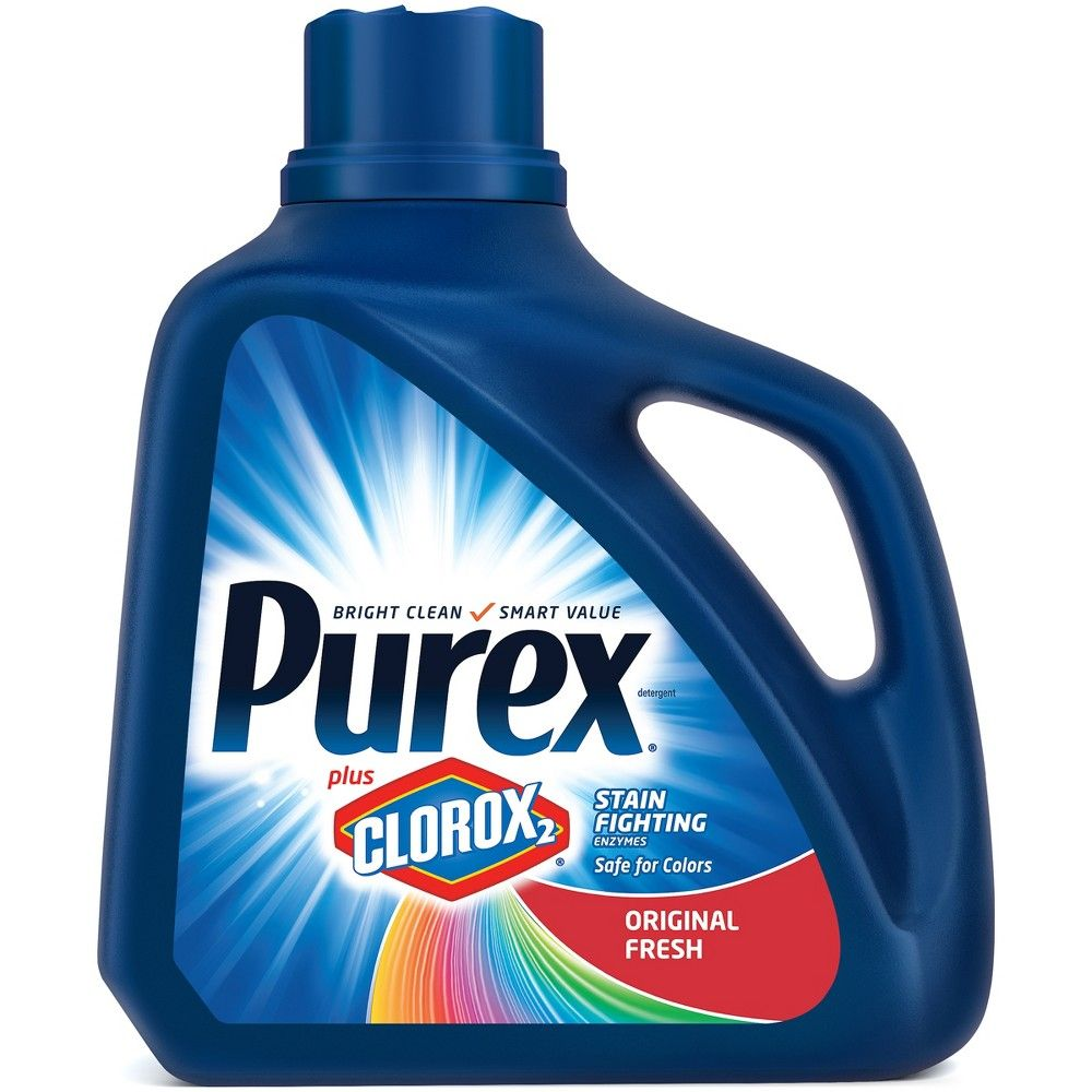 Purex Original Fresh Scent Plus Clorox2 Stain Fighting Enzymes He