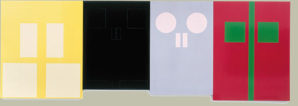 Gary Hume- Door Paintings (institutional doors) & Gary Hume- Door Paintings (institutional doors) | Paintings ...