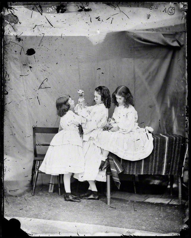 Edith Mary Liddell  Ina Liddell  Alice Liddell by Lewis Carroll (Charles  Lutwidge Dodgson 5a30ec327f8