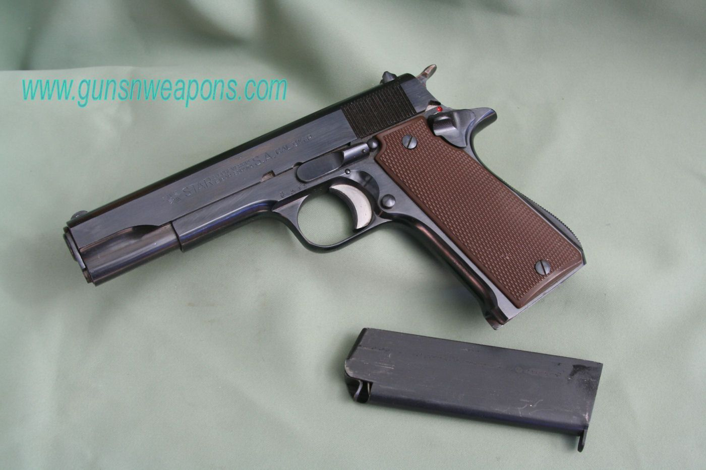 small resolution of star model b 9mm semi auto pistol
