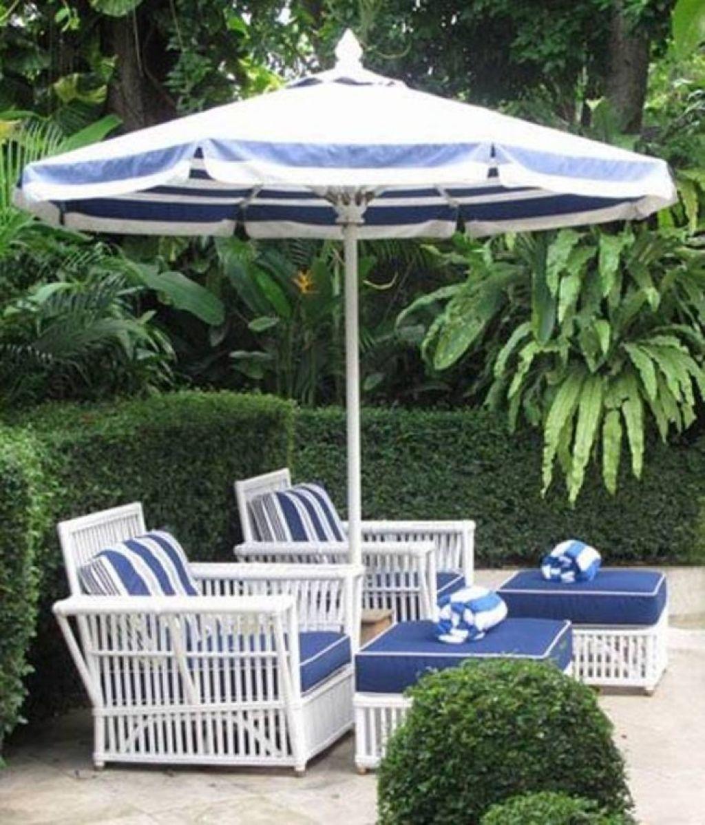 Enjoy The Outdoor Areas With Patio Umbrellas Palm Beach Decor