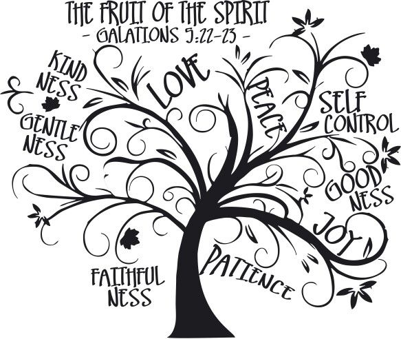 Fruits Of The Spirit Tree Spirit Tattoo Fruit Of The Spirit